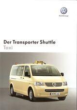 Prospekt / Brochure VW Transporter Shuttle Taxi 05/2005