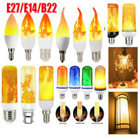 E14/E27 LED Licht Fackel Feuer Lampe Flammen Effekt Birnen Flacker Glühbirne