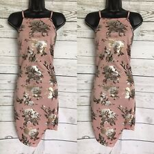 Womend Dress L Bodycon Cocktail Party Club Evening Floral Summer Casual Dress