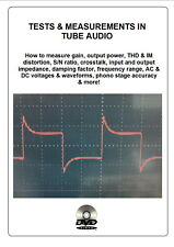 """Tests & measurements in tube audio"" DVD set for amplifier phono stage preamp"