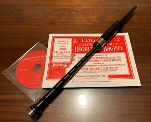 Bagpipe Learners Package- Premium Practice Chanter, CD-Rom and Tutor Book