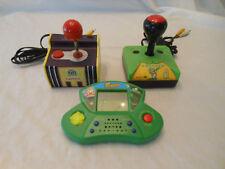 NAMCO Plug/play TV game FROGGER konami HAND HELD + Tabletop GAMES Lot of (3)