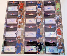 Autographed Single Manchester United Football Trading Cards & Stickers