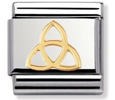 nomination charm Gold Trinity Knot RRP £18