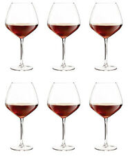 Large Burgundy Red wine glasses -box of 6- PROMOTIONAL PRICE!! RRP:£29.99