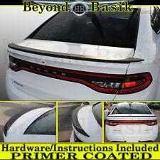 2013 2014 2015 2016 Dodge Dart OEM Factory Style Spoiler Wing Rear Trunk PRIMER