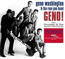 GENO & THE RAM JAM BAND WASHINGTON-GENO! THE PICCADILLY & PYE STUDIO 2CD NEUF