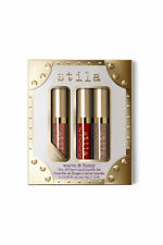 Stila Warm & Fuzzy Set of 3 Mini Stay All Day Matte Liquid Lipsticks *genuine*