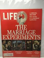 Life - April 28, 1972 the Marriage Experiments