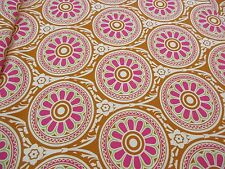 """""""Ring Around"""" Cotton Home Decor fabric HGTV Curtains pillows bags approx 55"""" BTY"""