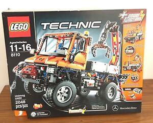 LEGO 8110 Technic Mercedes-Benz Unimog U400 New Sealed In Box