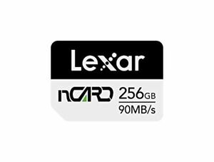 Lexar nCARD 256GB NM Nano Memory Card for Huawei Phones (LNCARD-256AMZN)