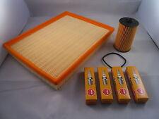 Vauxhall Zafira 1.6 Petrol Service Kit Oil + Air Filter Spark Plugs 2008-Onwards