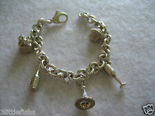 100% AUTHENTIC TIFFANY & CO Sterling Silver 925 Party Charms Bracelet RARE!