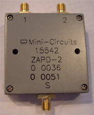 Mini-circuits Divider ZAPD-2, 2 Way SMA 1-2 GHz
