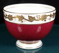 Wedgwood Whitehall Powder Ruby Sugar Bowl - W3994 - 1st Quality