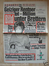Bild Zeitung  vom 7.4.1984, zum 30. Geburtstag, Liz Taylor, Judy Landers
