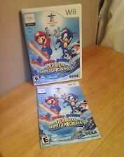 Wii Mario & Sonic at the Olympic Winter Games Vancouver 2010 100% COMPLETE