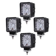4pcs 27w Led Work Light for ATV SUV 4WD Tractor Truck UTE Fog Car Square Flood