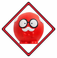 Red Nose Day Car Window Sign (£1 Goes To Comic Relief Charity) ~ 10