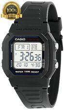 Original Casio Men W800H-1AV Classic Sport Watch Black Band Digital Waterproof