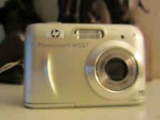 HP PhotoSmart M537 6.0MP Digital Camera - Silver