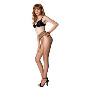 Platino Sinn Seamless Ultra Sheer 10 Denier Pantyhose Hose Tights Hosiery