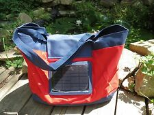 NEW! Solar Charge Beach Shopping Tote Bag for mobile devices Key Holder UNIQUE!