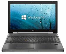 Hp Elitebook 8570w - Intel i7-3520M, 8GB RAM, SSD+HDD, FHD Graphics + Warranty