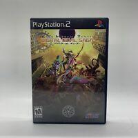 Shin Megami Tensei Digital Devil Saga 2 PS2 Rare Case Manual Sony PlayStation 2