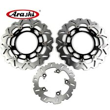 Fit Yamaha YZF R1 2007 - 2011 2010 YZF-R1 Brake System Front Rear Disc Rotors