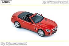 Mercedes-Benz SL Klasse de 2012 Red métallic NOREV - NO 351340 - Echelle 1/43