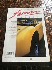 Ferrari World Magazine, rare, number 20 uk
