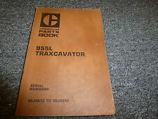 Caterpillar Cat 955L Traxcavator Parts Catalog Manual Book S/N 85J4672-85J6246