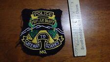 VINTAGE POPLAR BLUFF MISSOURI  POLICE DEPARTMENT   OBSOLETE PATCH BX C #18