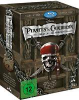 Fluch der Karibik 1.- 4. (Pirates of the Caribbean)    | Box-Set | Blu-ray | 067