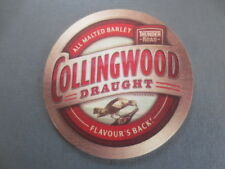 1 only THUNDER ROAD Brewery ,Victoria ,COLLINGWOOD DRAUGHT, RARE Issue COASTER