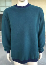 Vintage 90s Karsten Ping Golf Pullover Sweater USA Made Size Large Dark Green