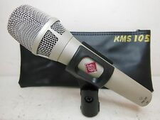 NEUMANN KMS 105 SUPER CARDIOID CONDENSER MICROPHONE LIVE OR STUDIO KMS105 LQQK !