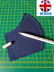 Air/Water Erasable (Vanishing) White Fabric Marker Pen - CHALK ALTERNATIVE