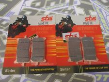 SBS Street Excel Sinter HH Front Brake Pads for Honda CRF1000 L Africa Twin 16-