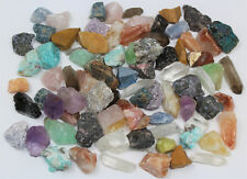 1000 Carat Bulk MINATURE Crafters Collection Gems Crystals Natural Raw Minerals