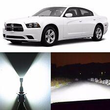 Alla Lighting High Beam Headlight 9005 White LED Bulbs for 2006~14 Dodge Charger