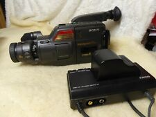 Sony CCD- F375E  VIDEO 8 PAL  Camcorder Video & Accessories +charger ac adapter