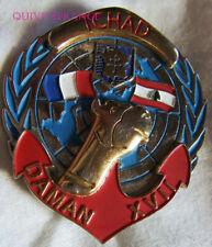 IN16174 - INSIGNE Régiment de Marche du TCHAD, DAMAN XVII, 2 D.B