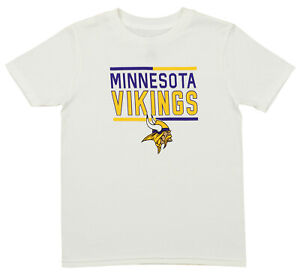 Outerstuff NFL Youth Minnesota Vikings Short Sleeve Flag Runner Tee