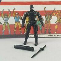 Original 2005 GI JOE SNAKE EYES V24 ARAH Complete UNBROKEN figure Valor Venom