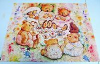 Mary's Bears Tea Party Picnic - 500 pc Springbok Jigsaw Puzzle (Odd Shapes)