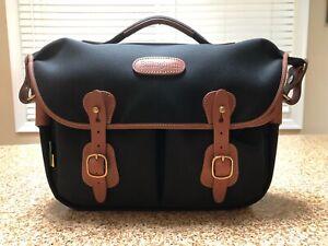 Billingham Hadley Pro 2020 Waterproof Camera Bag- Black Canvas/ Tan Leather
