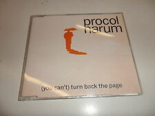 CD  Procol Harum - (You Can't) Turn Back The Page
